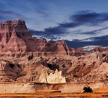 Sunrise over Badlands National Park .5 by Alex Preiss