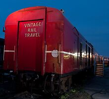 Vintage Rail by DavidsArt
