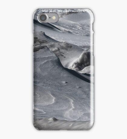 Frozen ice sculptures in frozen landscape  iPhone Case/Skin