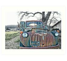 Vintage Chevy Art Print