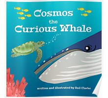 Cosmos the Curious Whale Poster