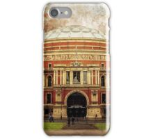 The Royal Albert Hall - London iPhone Case/Skin