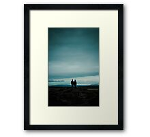 Icelandic View Framed Print
