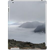 Above and below the clouds at Rocky Mountain National Park iPad Case/Skin