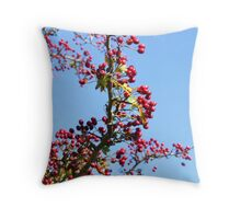 Autumn Berry Throw Pillow
