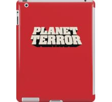 Planet Terror iPad Case/Skin