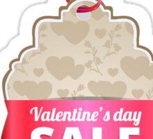 Valentine's Day Illustration-Sale Sticker