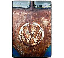 VW Rustic Photographic Print