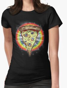 insanity slice Womens Fitted T-Shirt