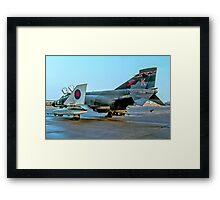 McDonnell F-4M Phantom FGR.2 XV429/K Framed Print