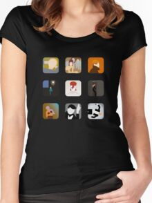 There's an app for that Bowie Women's Fitted Scoop T-Shirt