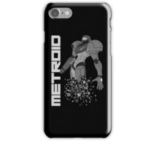 Turning to Zero (Greyscale) iPhone Case/Skin