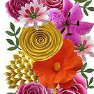 Paper Flowers by Ann12art