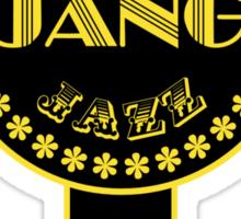 Django Gypsy Jazz Sticker