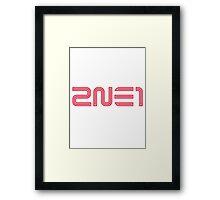 2NE1 1 Framed Print