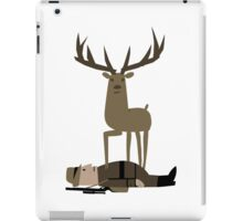 When the Deer Fights Back iPad Case/Skin