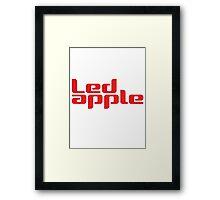 LEDApple 2 Framed Print