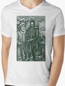 Holiday Drawing Mens V-Neck T-Shirt