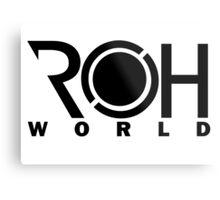 ROHworld ~ Shin Metal Print