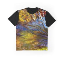 Flowing River Abstract 1 Graphic T-Shirt