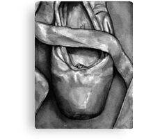 Greyscale Grishko 1 Canvas Print
