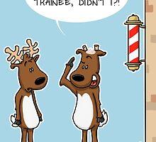Reindeer Haircuts by adraftee
