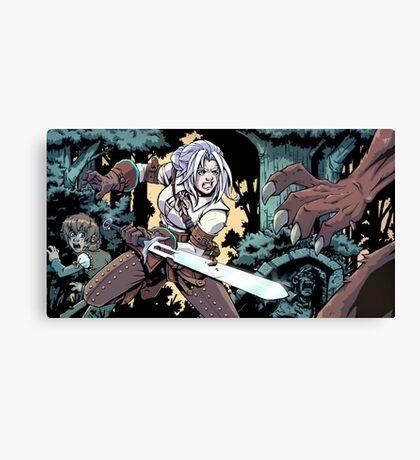 Witcher Canvas Print