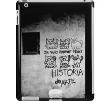 Cats Artists - Da Vinci, Rembrandt, Monet, Pollock, Picasso, Dalì - Historia Da Arte  iPad Case/Skin