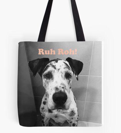 Ruh Roh! - Great Dane Tote Bag