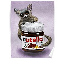 Sweet aim // galago and nutella Poster
