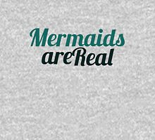 Mermaids are real Womens Fitted T-Shirt