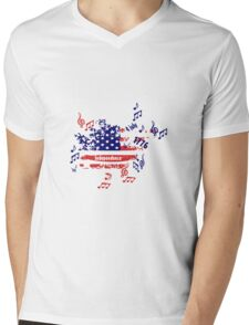 Independence day Mens V-Neck T-Shirt