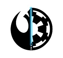 Rebel Alliance vs Galactic Empire - Star Wars Photographic Print