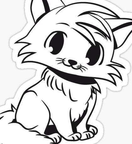 Katze baby niedlich lustig nett  Sticker