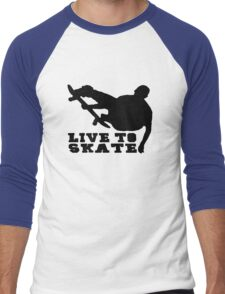 Skate Men's Baseball ¾ T-Shirt