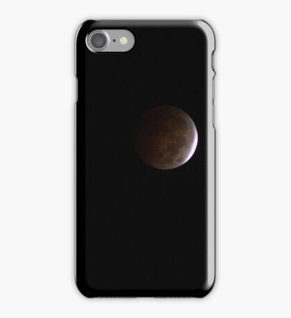 Moon - Lunar Eclipse iPhone Case/Skin