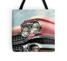 Pink with chrome Tote Bag