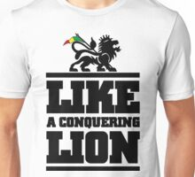 Like a conquering lion Unisex T-Shirt
