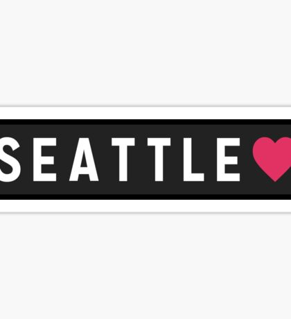 Seattle WA Sticker
