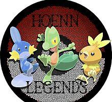Pokemon Hoenn Legends design by ChaosSpyro
