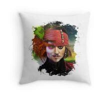 Depp. Throw Pillow