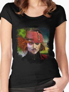 Depp. Women's Fitted Scoop T-Shirt