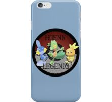 Pokemon Hoenn Legends design iPhone Case/Skin