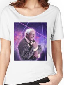 Bernie Sanders Kitty Women's Relaxed Fit T-Shirt