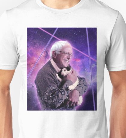Bernie Sanders Kitty Unisex T-Shirt