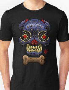 Boston Terrier Sugar skull. T-Shirt