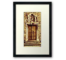 Doors of the World Series #21 Framed Print
