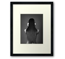 Hair 2623 Framed Print