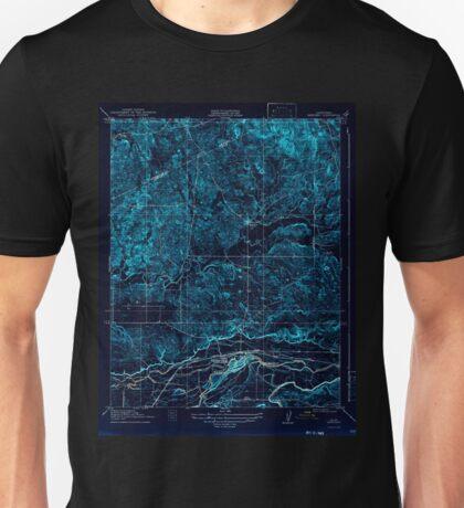 USGS TOPO Map California CA Snelling 301523 1918 31680 geo Inverted Unisex T-Shirt
