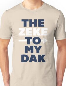 The Zeke To My Dak (Blue/White) Unisex T-Shirt